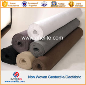 Black White Grey Color Woven Nonwoven Geotextile 100g to 1300g pictures & photos