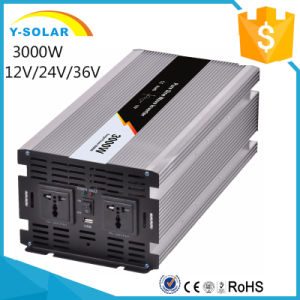 3000W 12V/24V/48V DC-Input 110V/220V AC-Output Solar off Grid Tie Converter pictures & photos