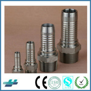 Swagelok Standard Stainless Steel NPT Male Swaged Hose Fittings pictures & photos