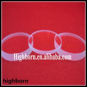 Transparent High Fused Quartz Glass Disc pictures & photos