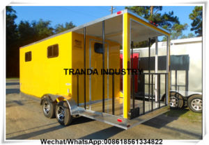 Qingdao Factory Custom Made Takoya Catering Booth for New Zealand Market pictures & photos