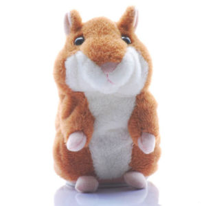 Talking Hamster Repeats What You Say Electric Toys pictures & photos