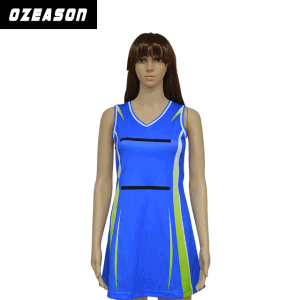 Wholesale Custom Netball Dresses Spandex Polyester Netball Jerseys (N011) pictures & photos
