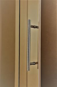 Na-02-D Single Roller Hunging Sliding Shower Door pictures & photos