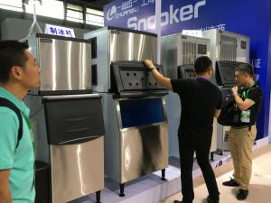 Snooker Water Cooled 909kg/24h Sk-2000p Big Cube Commercial Ice Making Machine, Ice Maker, Ice Machine pictures & photos