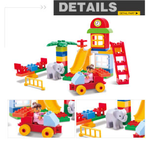 Funny DIY Storage Function Chair Building Blocks Kids Educational Toys pictures & photos