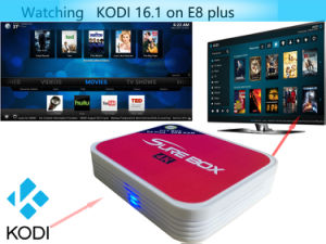 Smart 2GB RAM 8GB ROM Android TV Box with USB2.0 HDMI AV Output pictures & photos
