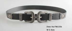 2018 Fashion Top Leather Belt for Ladies (FM1226) pictures & photos