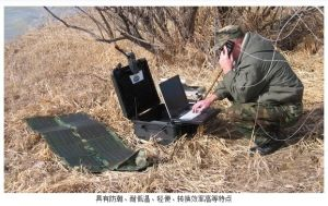 80W Big Power Mobile Device Foldable Solar Power Charger Bag Used in Army Radio pictures & photos