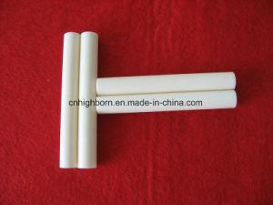 Alumina Ceramic 99% Purity Abrasion Resistant Textile Ceramic Tube pictures & photos