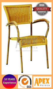 Outdoor Furniture Cafe Restaurant Wicker Chair (AS1018BRW) pictures & photos