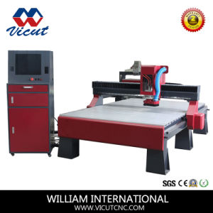 Door Making Furniture Carving Single-Head Wood Router CNC Router (VCT-SH1550W) pictures & photos