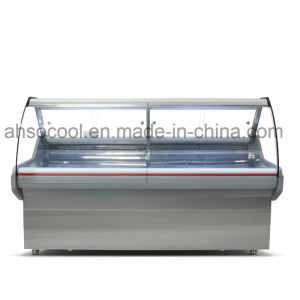 6FT Long Supermarket Deli Display Fridge, Grocery Deli Cooler Showcase pictures & photos