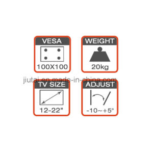 DVD/AV Component Mount Fit for 12-22′′ pictures & photos