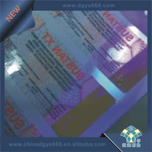 UV Logo Embossed Ticket Printing pictures & photos