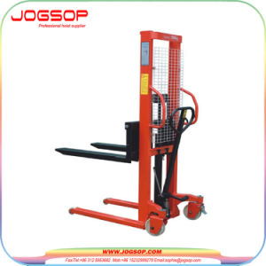 1-2tons Big Truck Manual Fork Lift Manual Pallet Stacker pictures & photos
