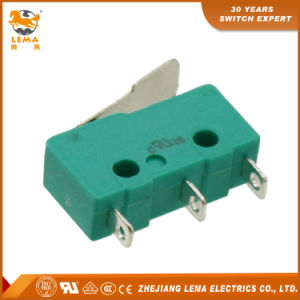 Lema 5A Green Kw12-1I Micro Switch Miniature Switch pictures & photos