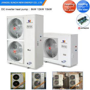 Cold -25c Winter 19kw/35kw/70kw Air Source Evi Inverter Heat Pumo pictures & photos