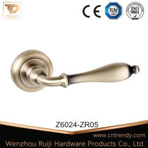 Door Handle High Quality Zinc Alloy Furniture Lever Handle (Z6204-ZR05) pictures & photos