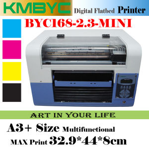 Byc168-2.3 6 Colors A3 Multi-Function T Shirt Textile and Food Printer Machine pictures & photos