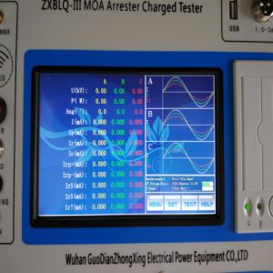 China Factory Best Price Three Phase Lightning Arrester Tester pictures & photos