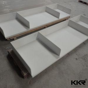 Kingkonree Artificial Quartz Stone Marble Bathroom Vanity Top pictures & photos