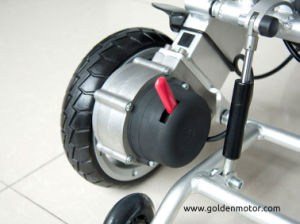 Leading Technology Brushless Electric Wheelchair, Foldable, Lightweight and Portable pictures & photos