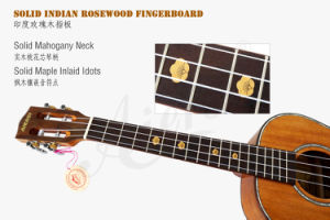 China Aiersi All Solid Mahogany Ukulele Wholesale pictures & photos