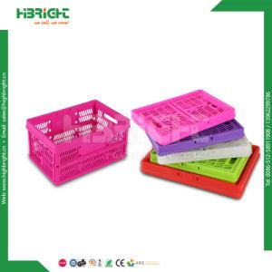 Foldable Plastic Potato Carry Baskets pictures & photos