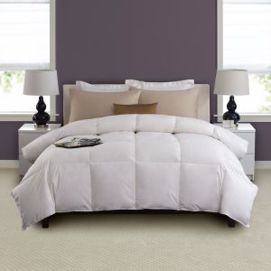Best Selling White 100% Cotton Fabric Hotel Quilt Comforter Duck Down Feather Duvet Inner pictures & photos
