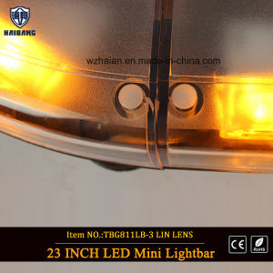 High Bright Amber Warning Strobe Emergency Trucks/Auto Cars LED Lightbars Mini Lightbar Magnetic Police Open Ambulance Fire Engine Police Car Lightbar pictures & photos