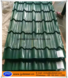 Color Glazed Steel/Metal/Iron Roof Tile pictures & photos