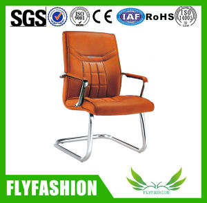 Office Brown Synthetic Visitor Chair Leather Chair pictures & photos