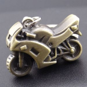 High Quality 3D Motorbike Keychain for Gift pictures & photos
