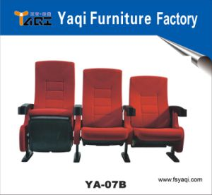 Elegant Modern Theater Chair with Folding Cup Holder (YA-07B) pictures & photos