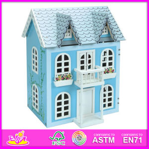 2014 New Kids Wooden Doll House Toy, Popular Children Wooden Doll House, Hot Sale Baby Toys, High Quality Children Toys W06A038 pictures & photos