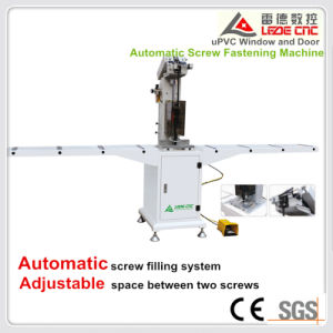 Automatic Screw Double Head Fasten Machine for UPVC/PVC Window pictures & photos