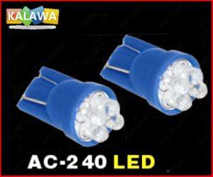 Super Bright T10-7LED DC12V LED T10 LED Bulb Side Wedge Light Lamp White^Jmq