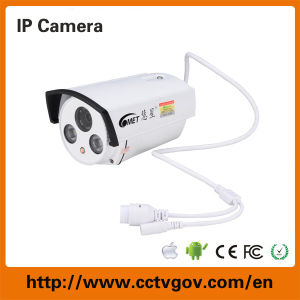 1.0 Megapixel P2p CCTV Outdoor Infrared Surveillance IP Camera pictures & photos