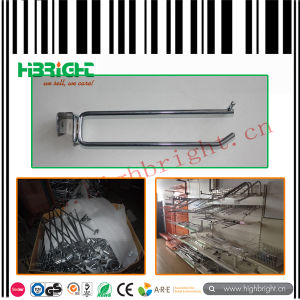 Shop Fitting Double Prong Steel Wire Display Hook pictures & photos