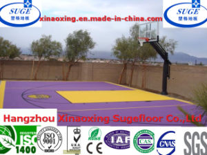 with Injection Technology Home Basketball Flooring pictures & photos