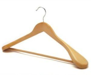 Broad Shoulder Wooden Coat Hanger (JM8037)