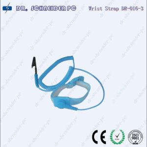 Adjustable White Yarn Wrist Strap (DR-016-3)