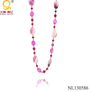 2014 Hot Crystal and Agate Necklace pictures & photos