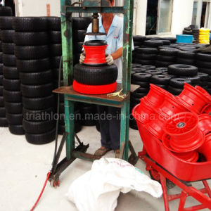 6.50-8 Nylon Plastic Rim Wheel for Wheelbarrow Tire pictures & photos