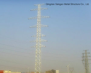 Premium Quality Transmission Line Tower with Galvanized Surfacetreat