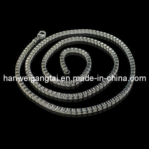 Steel Jewelry 2.0mm Box Chain, 316L Stainless Steel Necklace pictures & photos