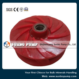 Ash Slurry Pump Part PU Impeller pictures & photos