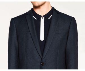 High Quality Navy Blue Designer Suit Blazer for Men