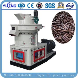 Yulong Patent Vertical Ring Die Wood Sawdust Pellet Machine pictures & photos